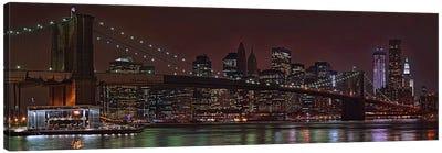 Jane's Carousel at the base of the bridge, Brooklyn Bridge, Manhattan, New York City, New York State, USA 2011 Canvas Print #PIM10233