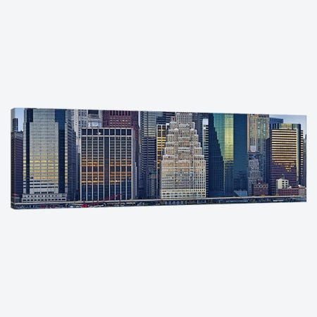 Skyscrapers in a city, New York City, New York State, USA 2011 Canvas Print #PIM10235} by Panoramic Images Canvas Art