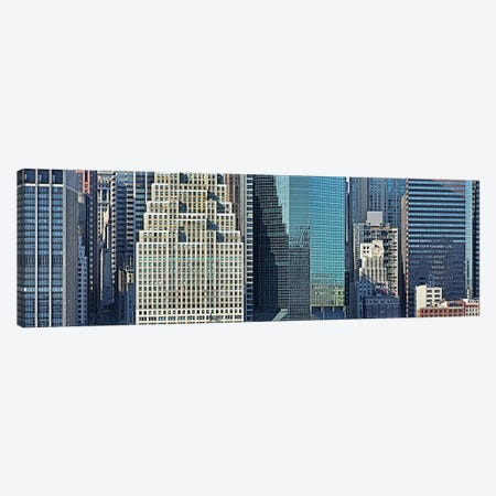 Skyscrapers in a city, New York City, New York State, USA 2011 #2 Canvas Print #PIM10237} by Panoramic Images Canvas Artwork