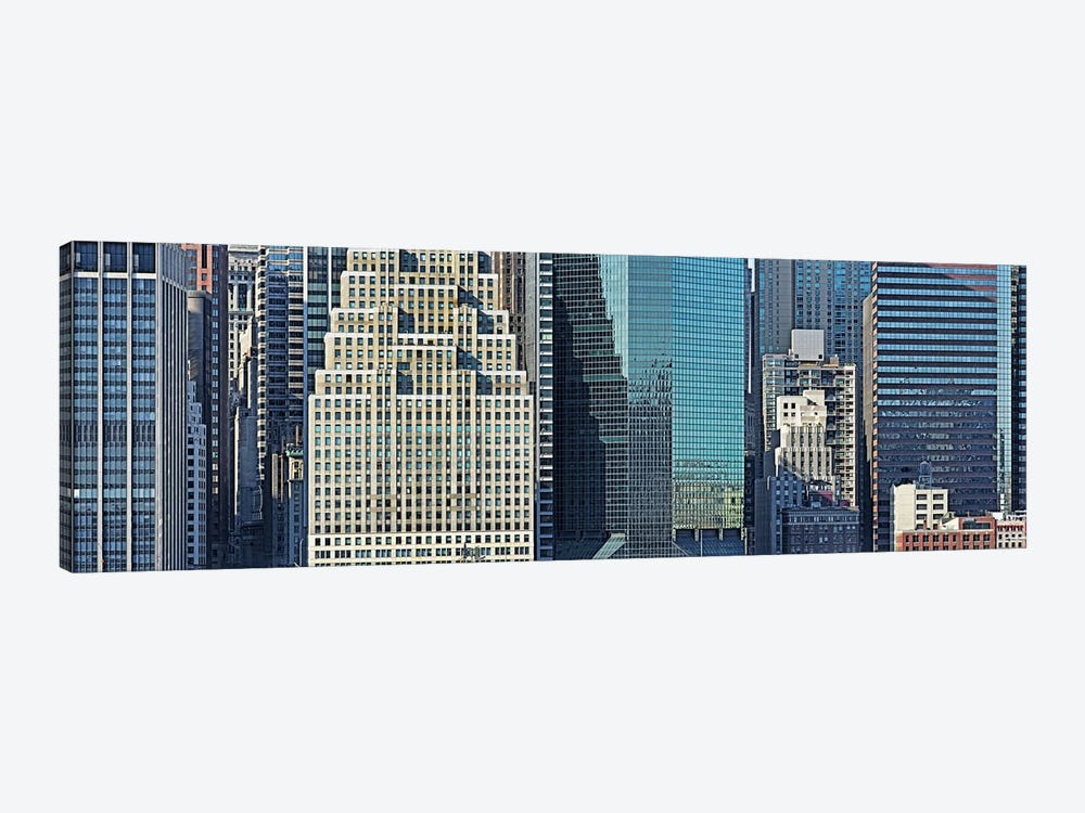 Skyscrapers in a city, New York City, New York State, USA 2011 #2 by Panoramic Images 1-piece Art Print