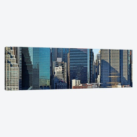 Skyscrapers in a city, New York City, New York State, USA 2011 #3 Canvas Print #PIM10238} by Panoramic Images Canvas Art Print