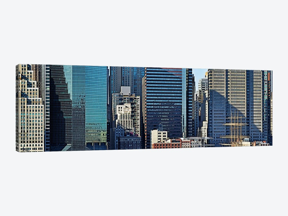 Skyscrapers in a city, New York City, New York State, USA 2011 #3 by Panoramic Images 1-piece Canvas Wall Art
