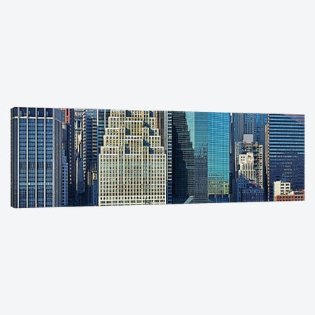 Skyscrapers in a city, New York City, New York State, USA 2011 #4 Canvas Print #PIM10239} by Panoramic Images Canvas Art Print