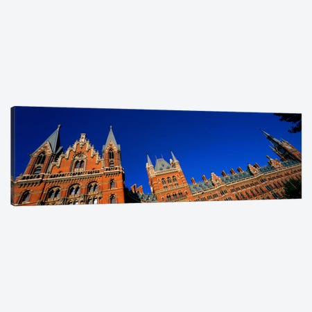 St Pancras Railway Station London England Canvas Print #PIM1023} by Panoramic Images Canvas Print