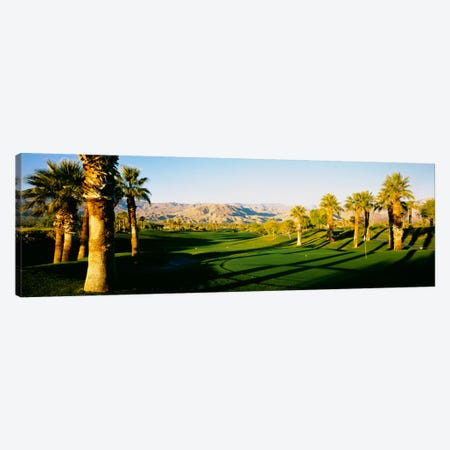 Palm Course, Desert Springs Golf Club, JW Marriott Desert Springs Resort & Spa, Palm Desert, California, USA Canvas Print #PIM1024} by Panoramic Images Canvas Artwork