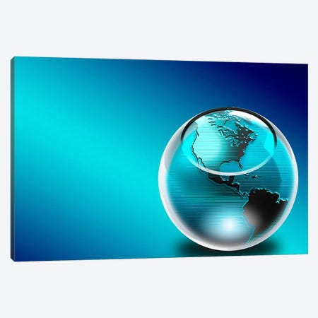 Glass earth Canvas Print #PIM10252} by Panoramic Images Canvas Print
