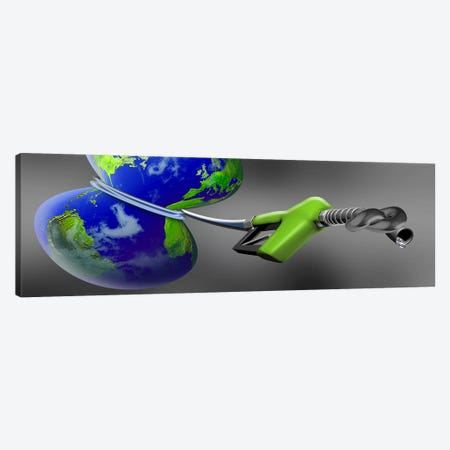 Oil choking earth Canvas Print #PIM10261} by Panoramic Images Canvas Wall Art