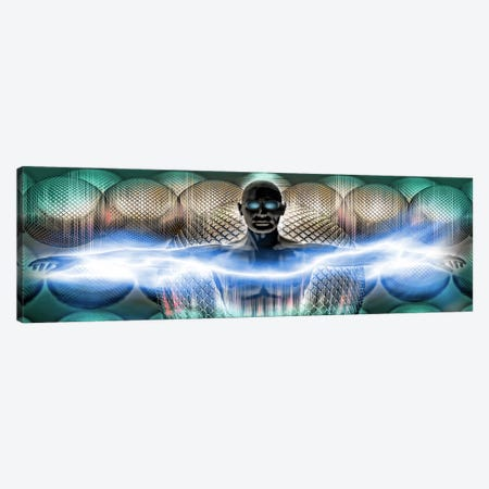 Digital man Canvas Print #PIM10263} by Panoramic Images Canvas Artwork