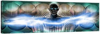 Digital man Canvas Print #PIM10263