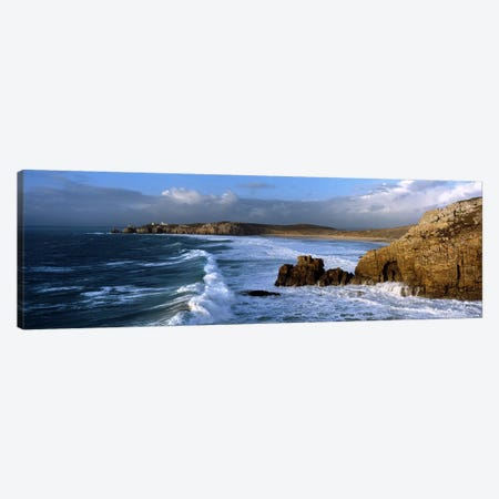 Crozon Peninsula, Finistere, Brittany, France Canvas Print #PIM10281} by Panoramic Images Canvas Art