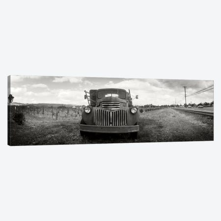 Old Vineyard Truck, Napa Valley, California, USA Canvas Print #PIM10295} by Panoramic Images Canvas Art