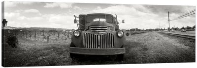 Old Vineyard Truck, Napa Valley, California, USA Canvas Print #PIM10295