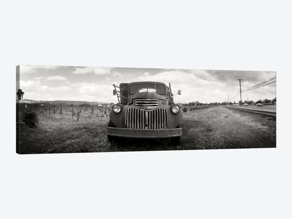 Old Vineyard Truck, Napa Valley, California, USA by Panoramic Images 1-piece Canvas Print