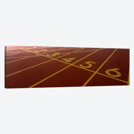 Track, Starting Line Canvas Print #PIM102} by Panoramic Images Art Print