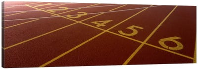 Track, Starting Line Canvas Art Print