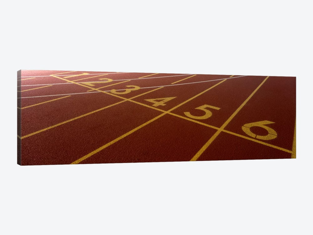 Track, Starting Line by Panoramic Images 1-piece Art Print