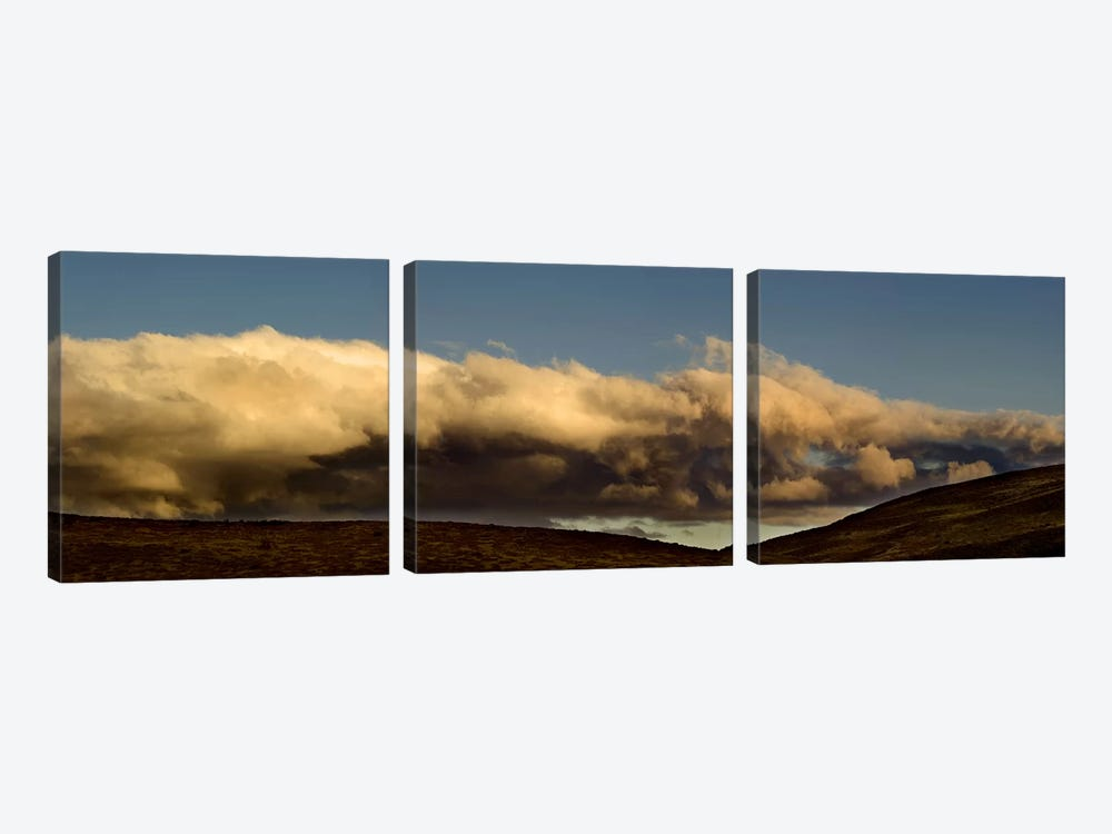 Clouds at sunset by Panoramic Images 3-piece Canvas Print
