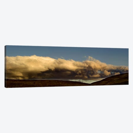 Clouds at sunset 3-Piece Canvas #PIM10307} by Panoramic Images Canvas Wall Art