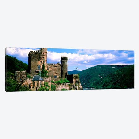 Rhinestone Castle Germany Canvas Print #PIM1032} by Panoramic Images Canvas Art