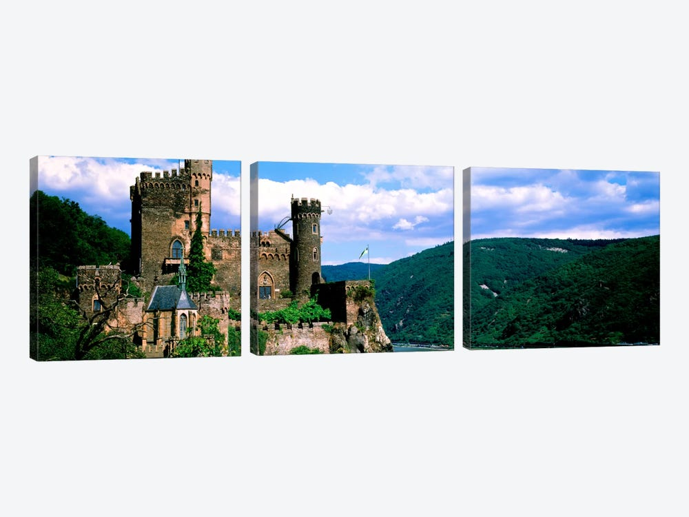 Rhinestone Castle Germany by Panoramic Images 3-piece Art Print