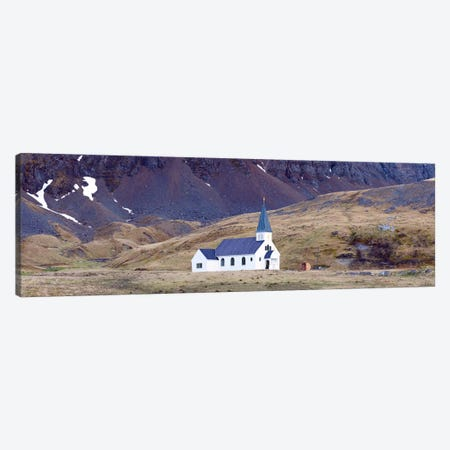 Old whalers church, Grytviken, South Georgia Island Canvas Print #PIM10340} by Panoramic Images Art Print