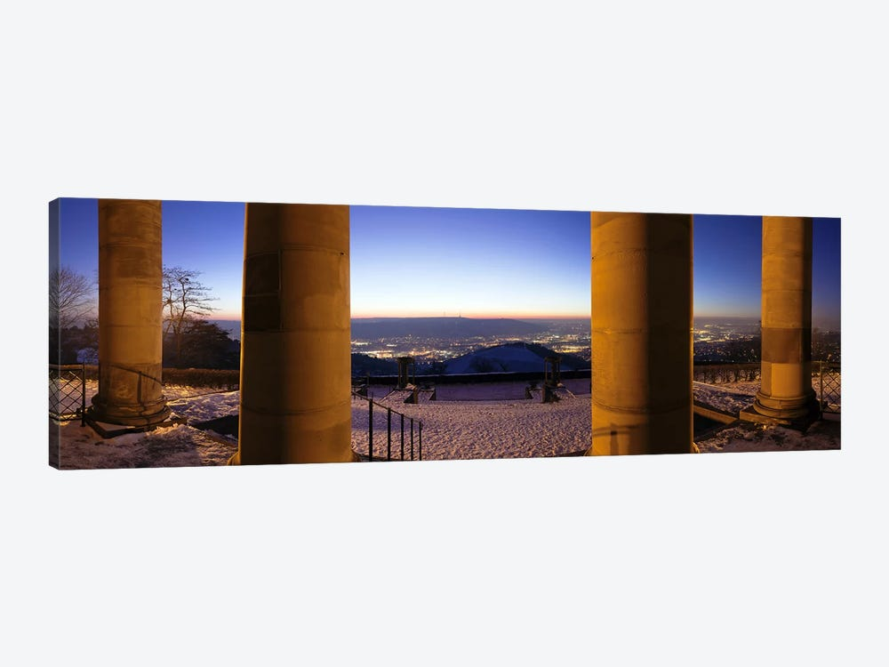 Columns of the Funeral Chapel, Rotenberg, Stuttgart, Baden-Wurttemberg, Germany by Panoramic Images 1-piece Canvas Print