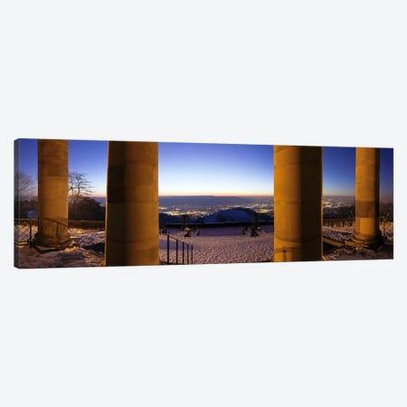 Columns of the Funeral Chapel, Rotenberg, Stuttgart, Baden-Wurttemberg, Germany Canvas Print #PIM10398} by Panoramic Images Canvas Art
