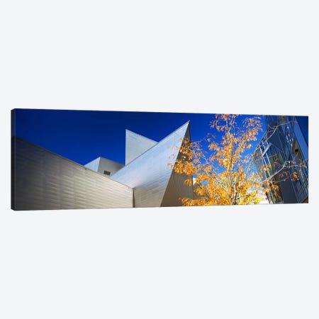 Low angle view of skyscrapers, Downtown Denver, Denver, Colorado, USA Canvas Print #PIM10405} by Panoramic Images Canvas Art Print