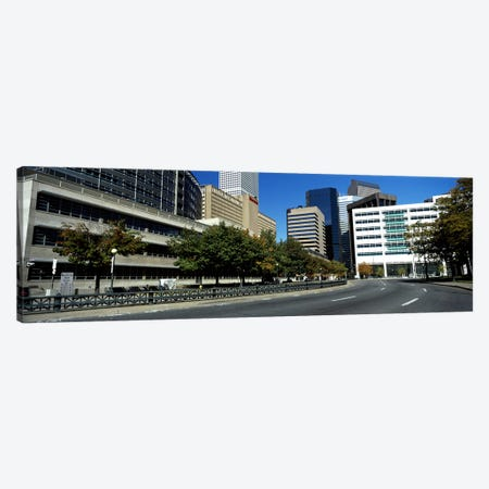 Buildings in a city, Downtown Denver, Denver, Colorado, USA Canvas Print #PIM10406} by Panoramic Images Canvas Art Print