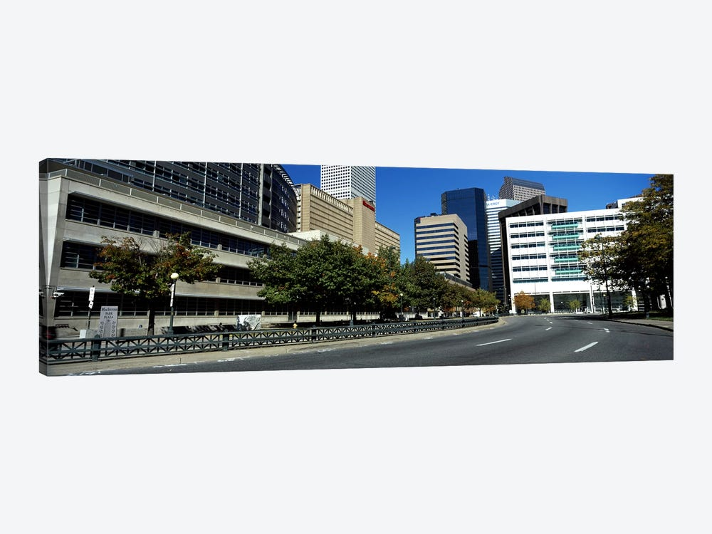 Buildings in a city, Downtown Denver, Denver, Colorado, USA by Panoramic Images 1-piece Art Print
