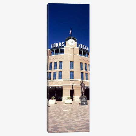 Facade of a baseball stadium, Coors Field, Denver, Denver County, Colorado, USA Canvas Print #PIM10409} by Panoramic Images Canvas Artwork