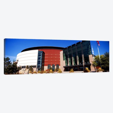 Building in a city, Pepsi Center, Denver, Denver County, Colorado, USA #2 Canvas Print #PIM10413} by Panoramic Images Art Print