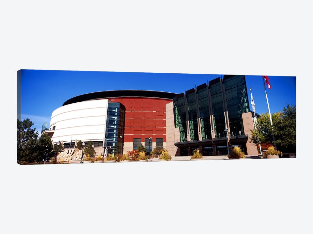 Building in a city, Pepsi Center, Denver, Denver County, Colorado, USA #2 by Panoramic Images 1-piece Art Print