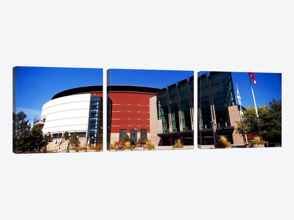 Building in a city, Pepsi Center, Denver, Denver County, Colorado, USA #2 by Panoramic Images 3-piece Art Print