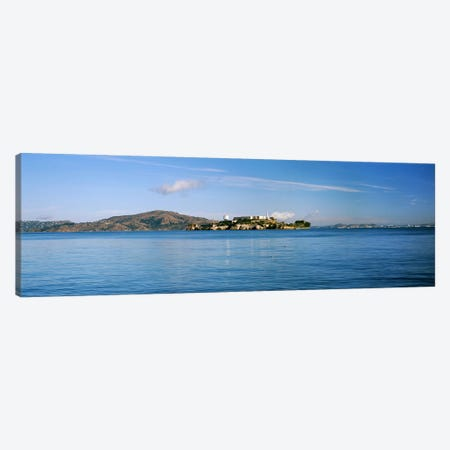 Alcatraz Island, San Francisco, California, USA Canvas Print #PIM10418} by Panoramic Images Canvas Print