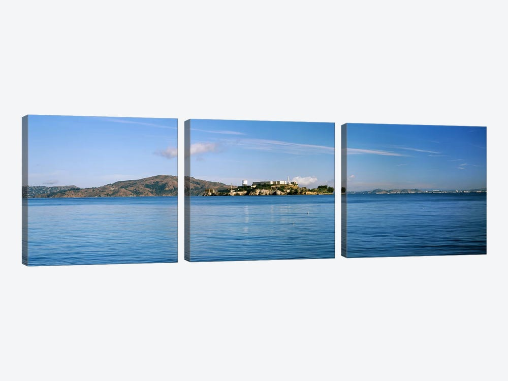 Alcatraz Island, San Francisco, California, USA by Panoramic Images 3-piece Canvas Wall Art