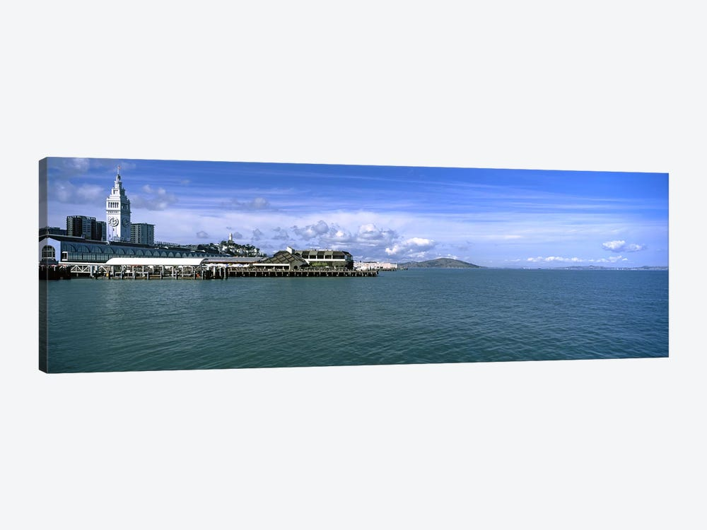 Buildings at the waterfront, San Francisco, California, USA by Panoramic Images 1-piece Canvas Art Print
