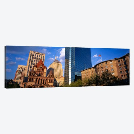 USA, Massachusetts, Boston, Copley Square Canvas Print #PIM1041} by Panoramic Images Canvas Print