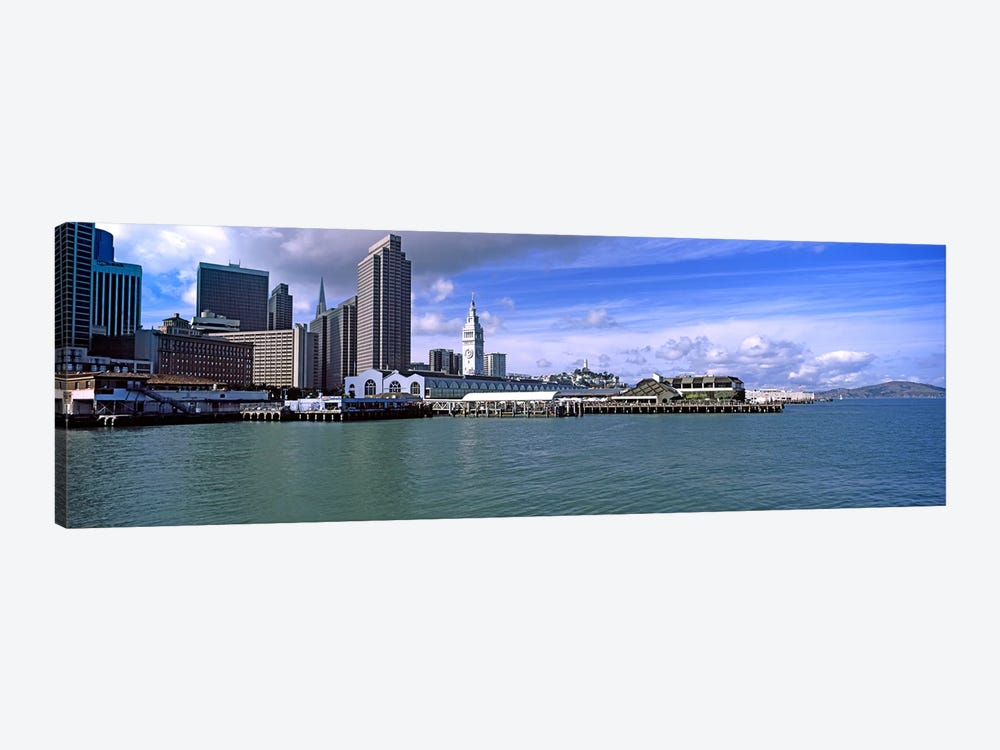 Buildings at the waterfront, San Francisco, California, USA by Panoramic Images 1-piece Art Print