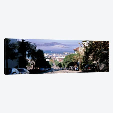 Street scene, San Francisco, California, USA Canvas Print #PIM10421} by Panoramic Images Canvas Wall Art