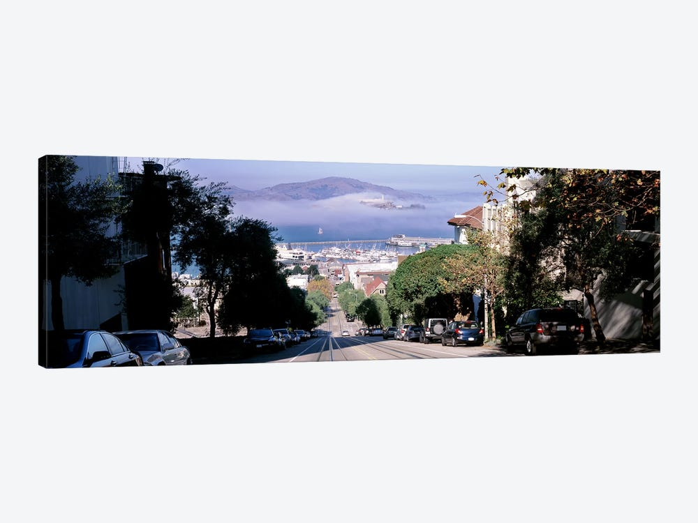 Street scene, San Francisco, California, USA by Panoramic Images 1-piece Canvas Artwork
