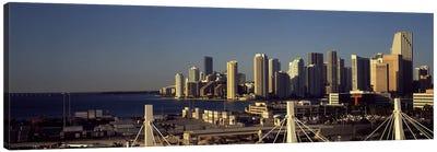 Buildings in a city, Miami, Florida, USA Canvas Print #PIM10433