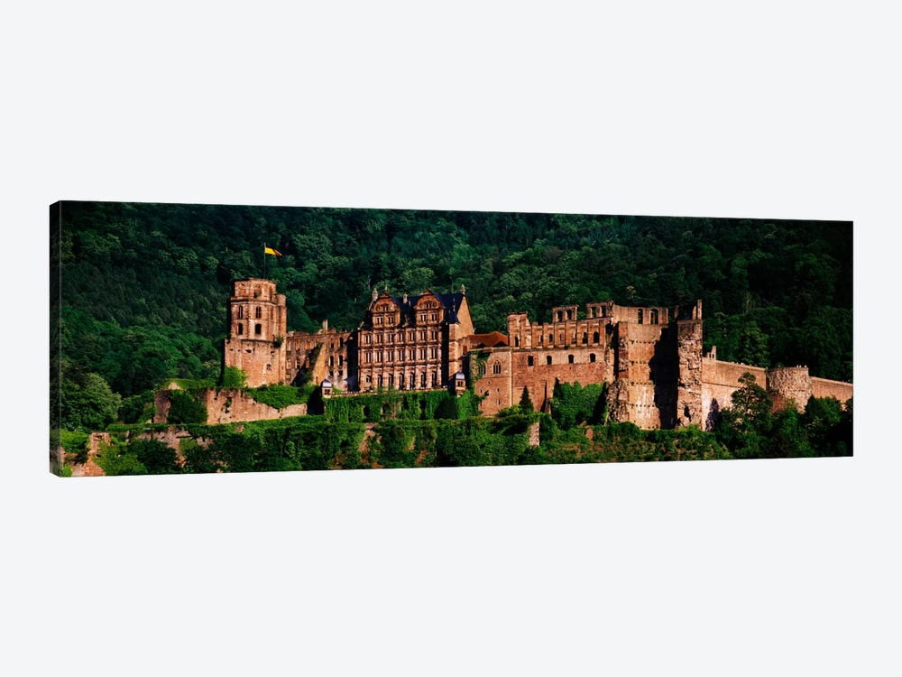 Heidelberg Castle, Heidelberg, Baden-Wurttemberg, Germany by Panoramic Images 1-piece Canvas Art Print