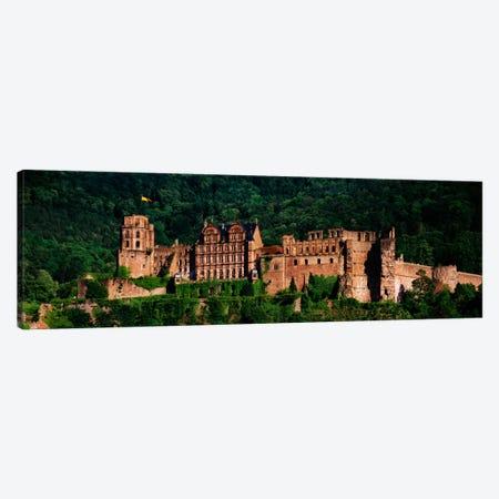 Heidelberg Castle, Heidelberg, Baden-Wurttemberg, Germany 3-Piece Canvas #PIM1043} by Panoramic Images Canvas Art Print