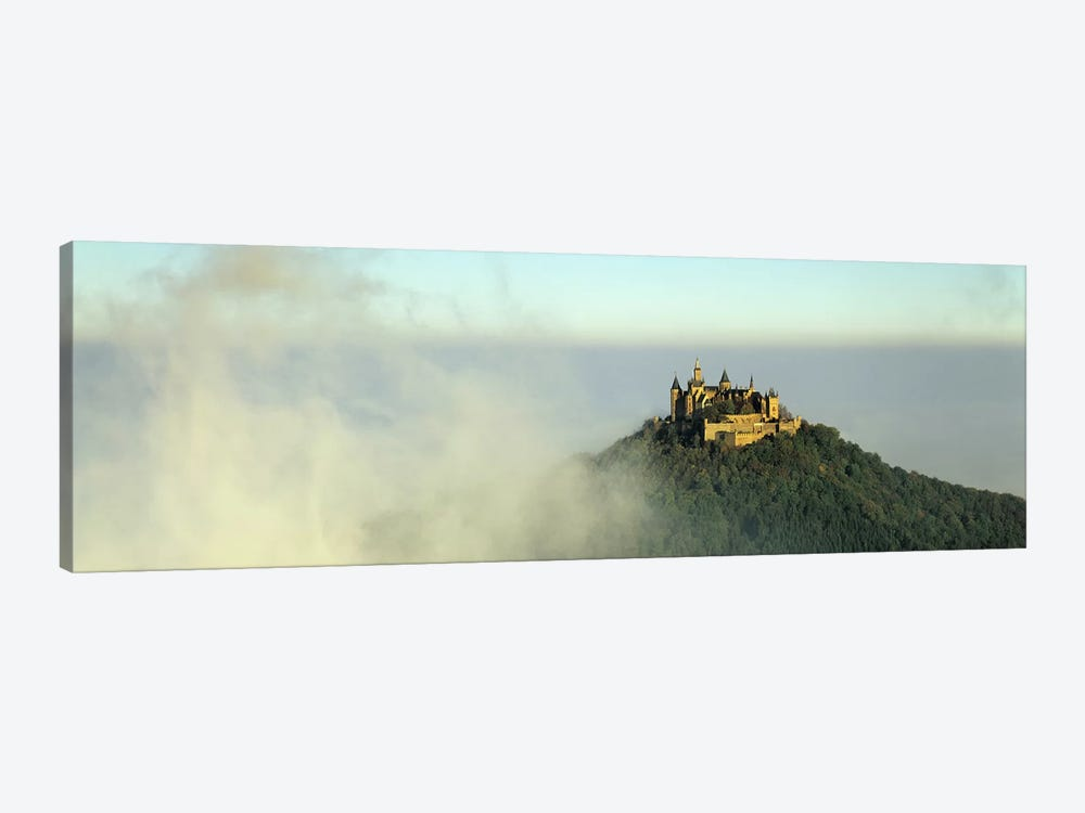 Castle on a hill, Burg Hohenzollern, Swabian Alb, Baden-Wurttemberg, Germany by Panoramic Images 1-piece Canvas Artwork
