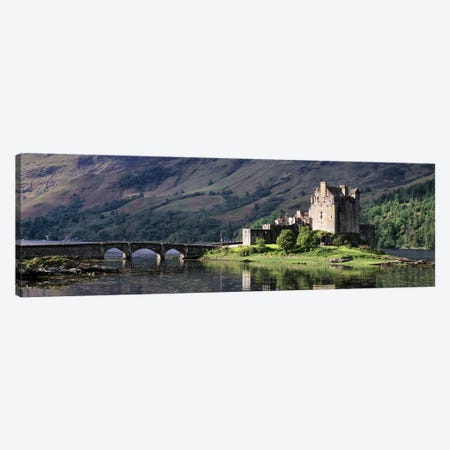 Eilean Donan CastleDornie, Ross-shire, Highlands Region, Scotland Canvas Print #PIM10442} by Panoramic Images Canvas Wall Art