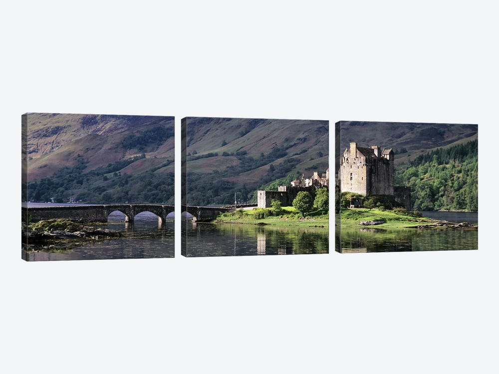 Eilean Donan CastleDornie, Ross-shire, Highlands Region, Scotland by Panoramic Images 3-piece Art Print