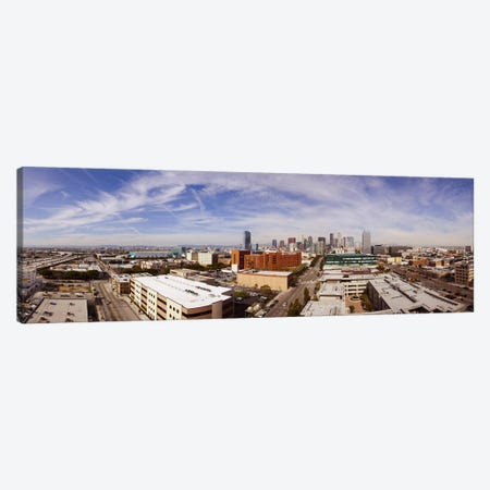 Buildings in Downtown Los Angeles, Los Angeles County, California, USA 2011 Canvas Print #PIM10452} by Panoramic Images Canvas Art Print