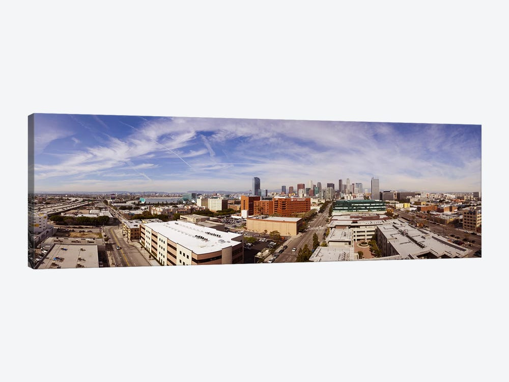 Buildings in Downtown Los Angeles, Los Angeles County, California, USA 2011 by Panoramic Images 1-piece Canvas Art