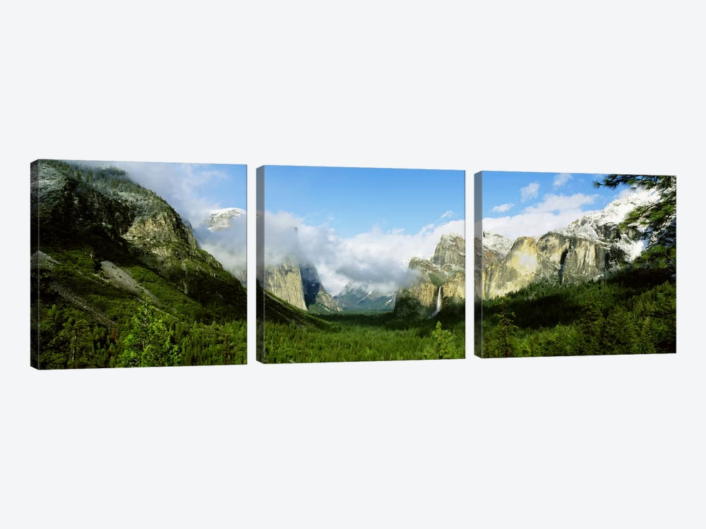 Yosemite National Park CA USA by Panoramic Images 3-piece Canvas Art Print